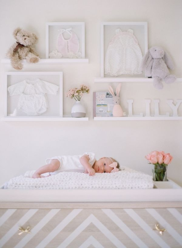 Baby Girl Room Wall Decor Inspirational A Blushing Baby Nursery as Pretty as they E Ideas & Projects for the Home