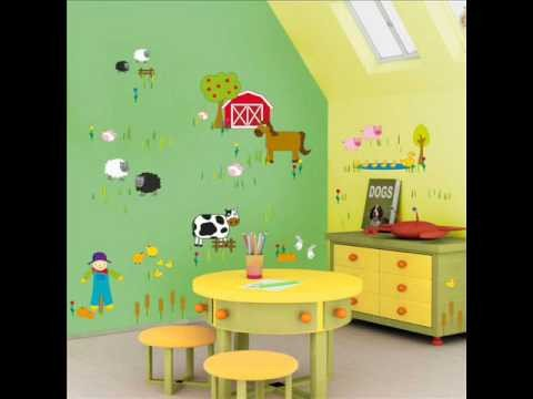 Baby Room Wall Decor Ideas Beautiful Kids Wall Stickers Ideas for Decorating A Baby Boy Room