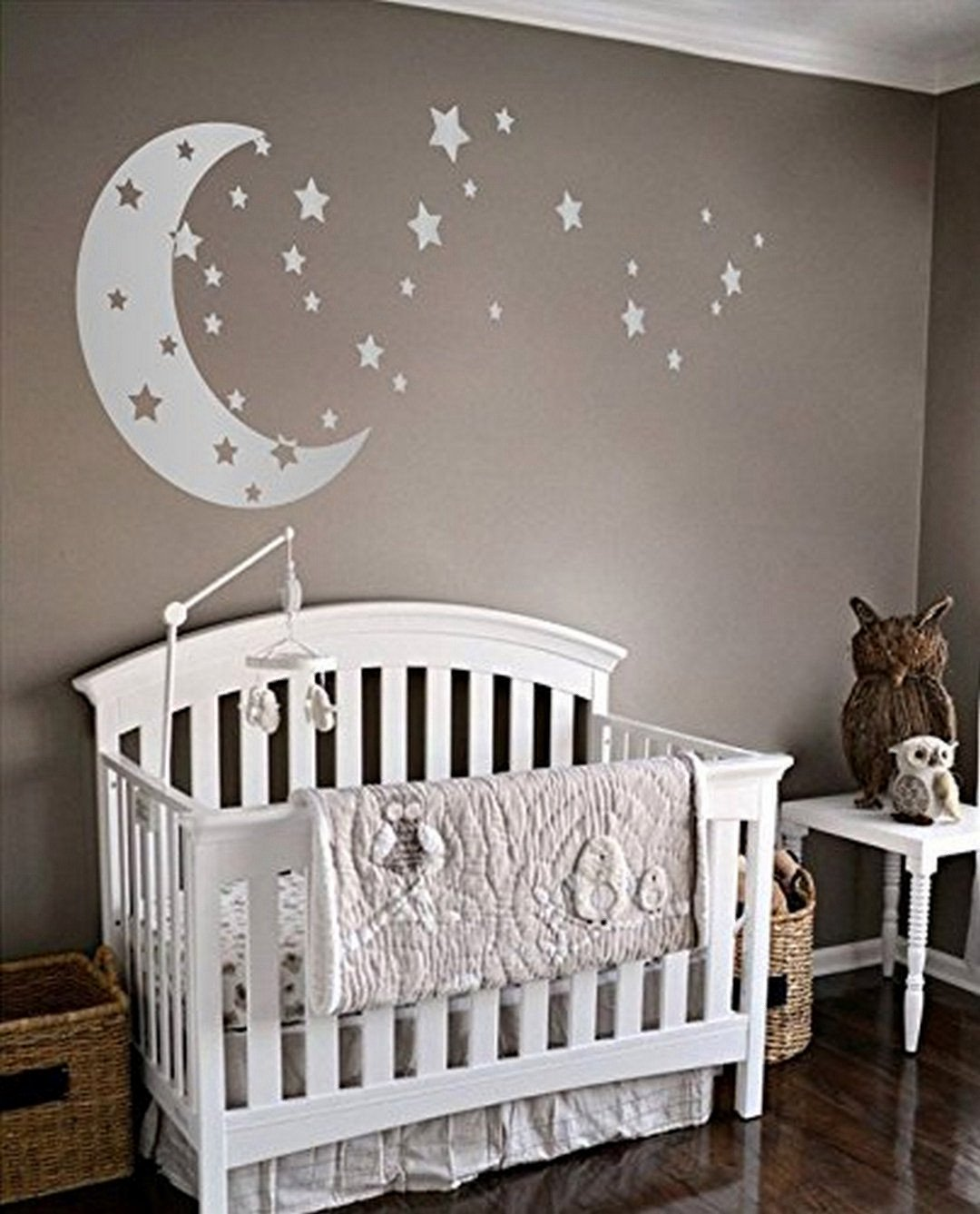 Baby Room Wall Decor Ideas Inspirational 38 Dazzling Moon and Stars Nursery Decoration Ideas Gorgeous Interior Ideas