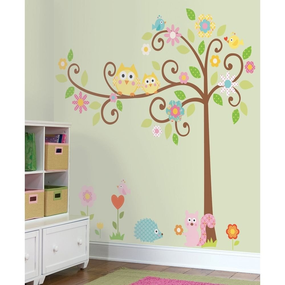 Baby Room Wall Decor Ideas Inspirational New Giant Scroll Tree Wall Decals Baby Nursery Stickers Kids Bedroom Decor