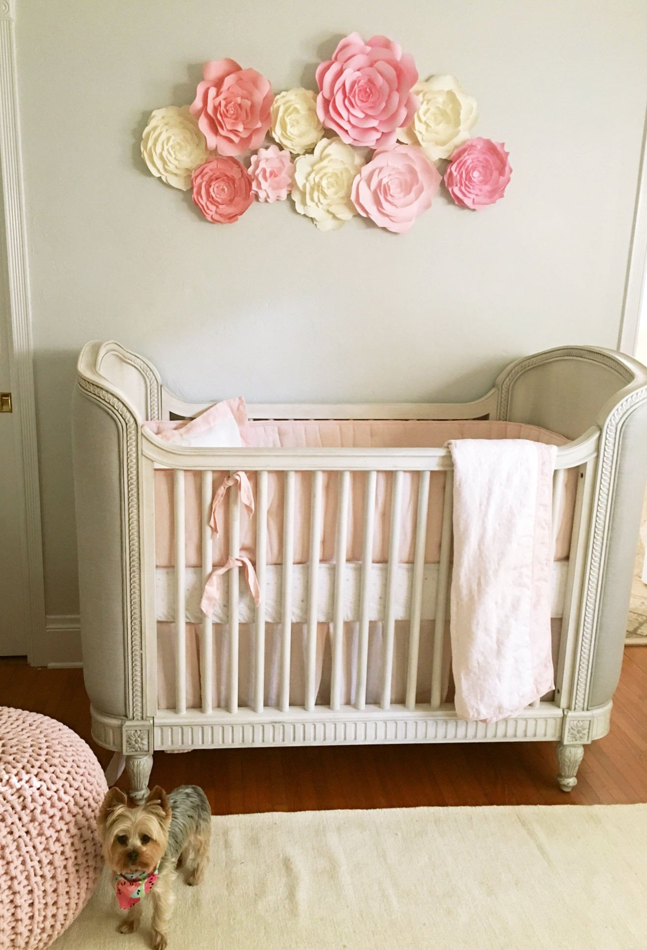 Baby Room Wall Decor Ideas Lovely Baby Nursery Wall Decor Paper Flowers for Girls Nursery