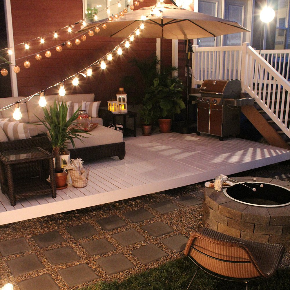 Backyard Decor On A Budget Beautiful Backyard Transformation before & after Seeking Alexi Diy Boss