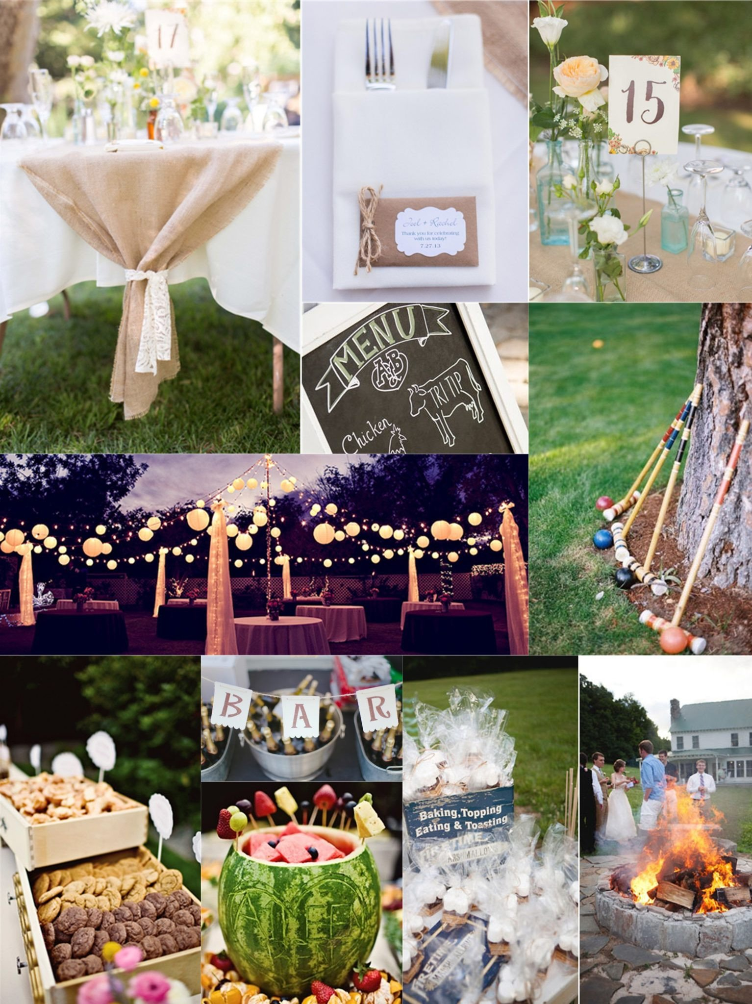 Backyard Decor On A Budget Fresh Essential Guide to A Backyard Wedding On A Bud