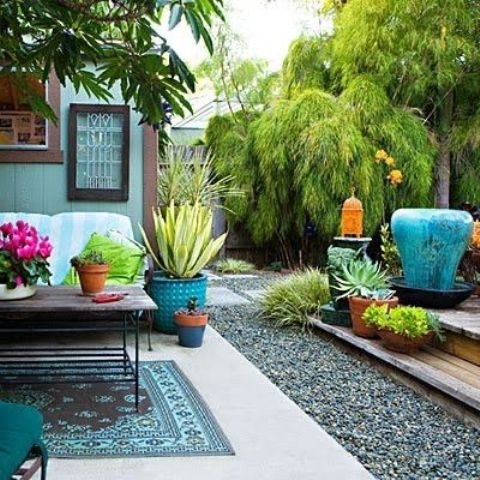 Backyard Decor On A Budget Lovely 20 Bright Spring Terrace and Patio Décor Ideas Digsdigs