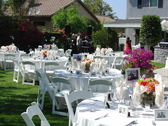 Backyard Decor On A Budget Luxury Backyard Wedding Ideas Wedding Ideas