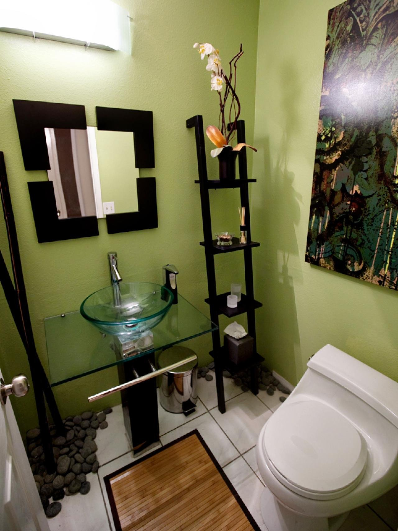 Bathroom Decor On A Budget Awesome if You Think A Small Bathroom Limits Design Potential Take A Look at This Diy Space Created In