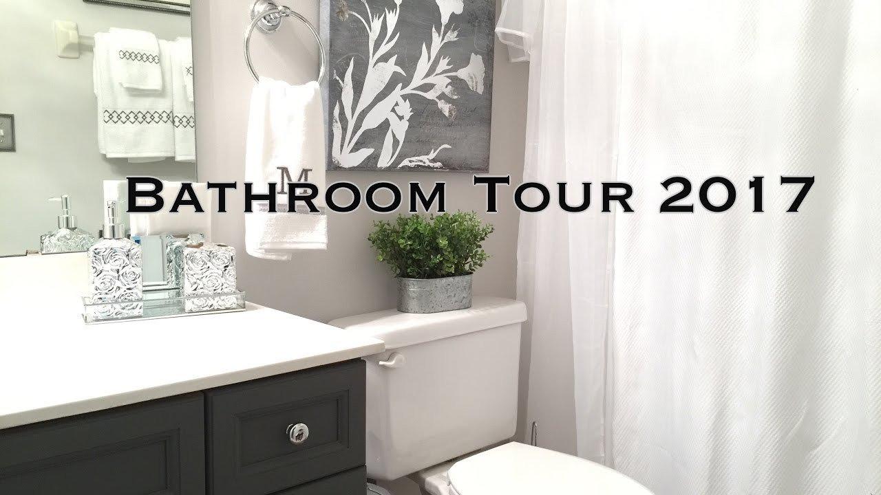 Bathroom Decor On A Budget Beautiful Bathroom Decorating Ideas & tour On A Bud