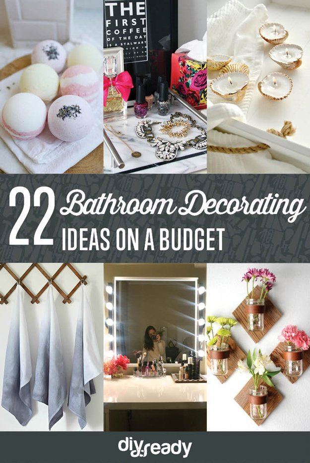 Bathroom Decor On A Budget Best Of Bathroom Decorating Ideas On A Bud Diy Ready
