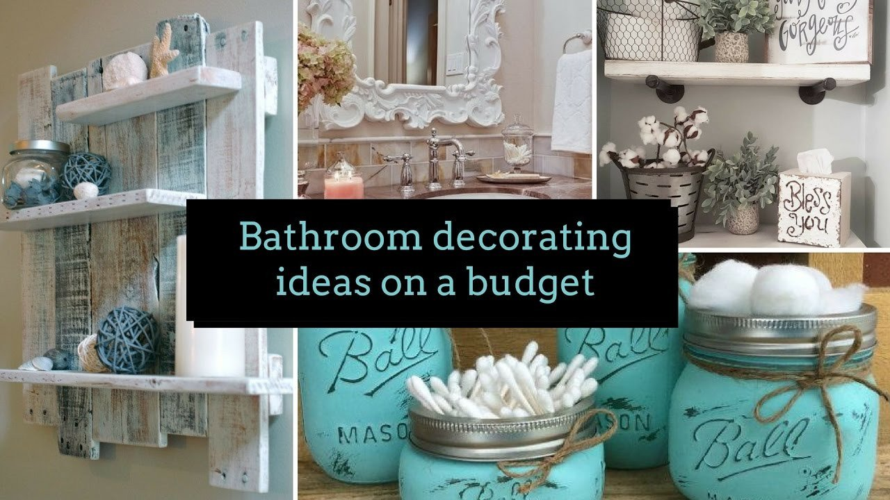 Bathroom Decor On A Budget Best Of Diy Bathroom Decorating Ideas On A Bud ? Home Decor & Interior Design
