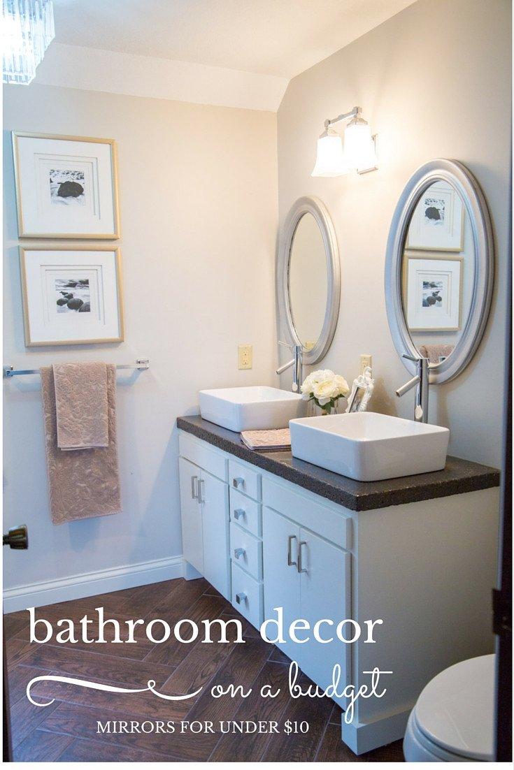 Bathroom Decor On A Budget Lovely Bud Bathroom Decor