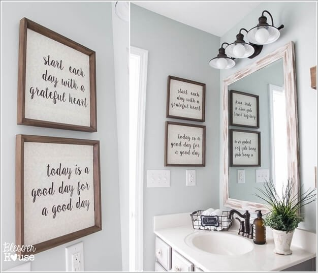 Bathroom Wall Art Ideas Decor Best Of 10 Creative Diy Bathroom Wall Decor Ideas