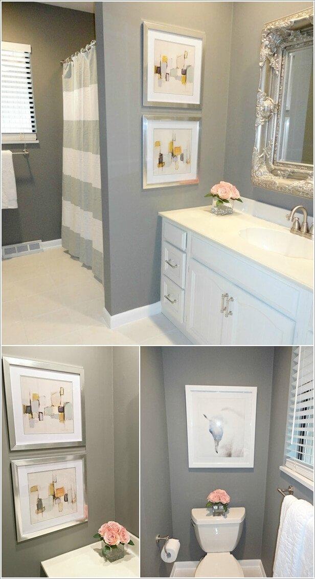 Bathroom Wall Art Ideas Decor Inspirational 10 Creative Diy Bathroom Wall Decor Ideas