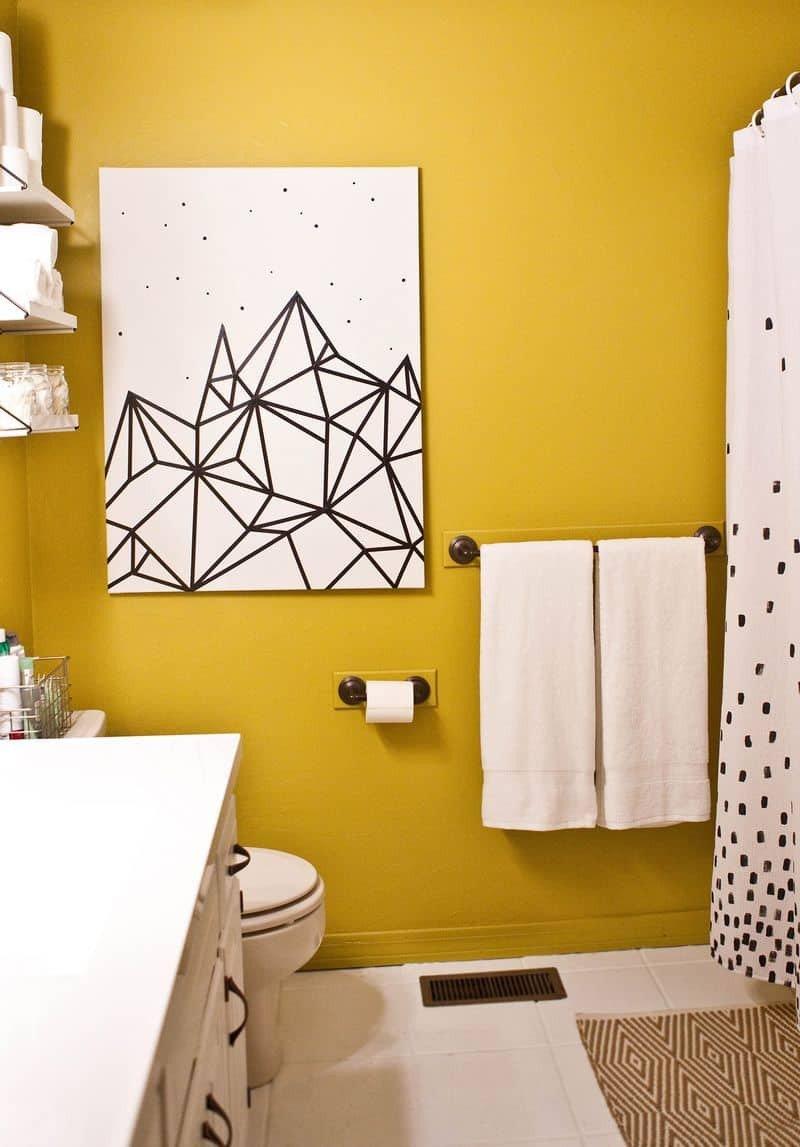 Bathroom Wall Art Ideas Decor Unique 10 Diy Wall Decorations with Washi Tape