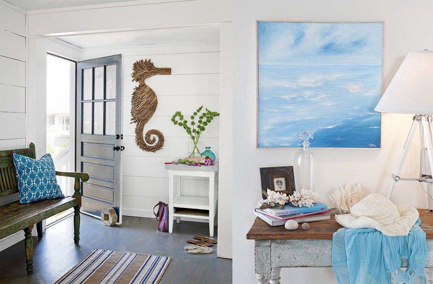 Beach Decor for the Home Elegant Coastal Chic Beach Homes – Brewster Home
