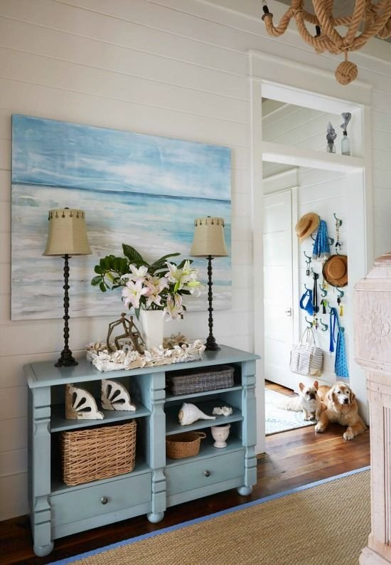 Beach Decor for the Home Lovely Beach Cottage Monday Pins
