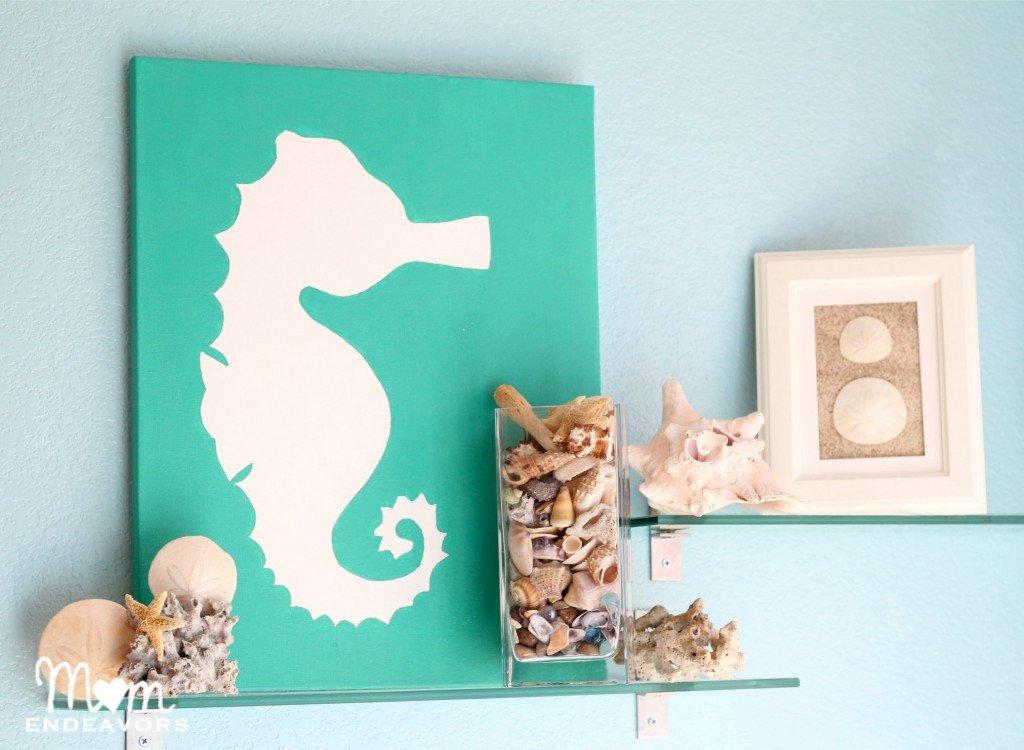 Beach themed Bathroom Wall Decor Fresh 50 Best Home Decoration Ideas for Summer 2017