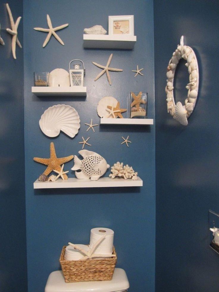 Beach themed Bathroom Wall Decor Inspirational 25 Best Ideas About Beach themed Bathrooms On Pinterest