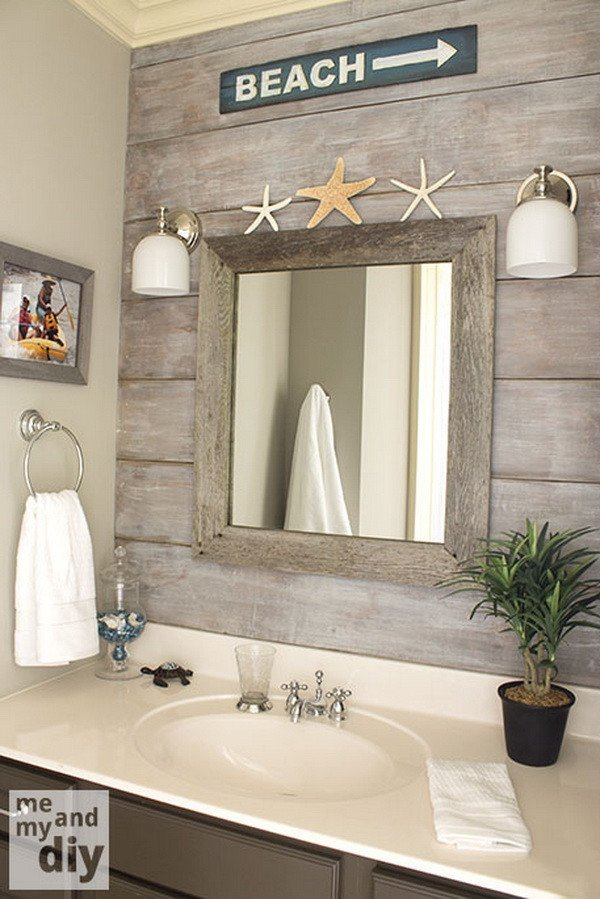 Beach themed Bathroom Wall Decor Inspirational 25 Best Nautical Bathroom Ideas and Designs for 2019