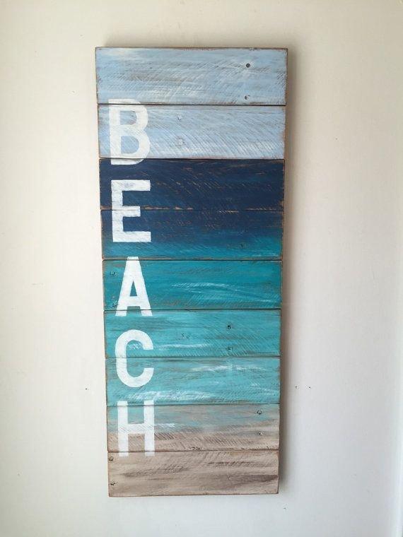 Beach themed Wall Decor Ideas Awesome Best 25 Beach Decorations Ideas On Pinterest