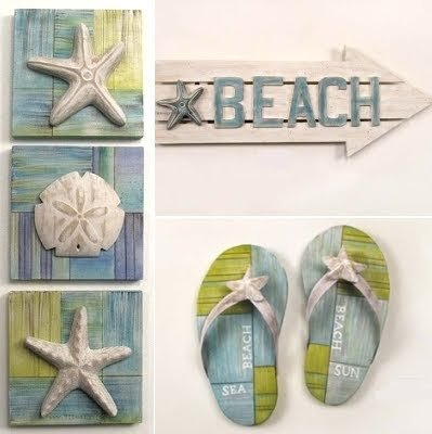 Beach themed Wall Decor Ideas Elegant Beach Decor Fun Artistic Wood and Metal Sculptures & Signs Coastal Decor Ideas and Interior