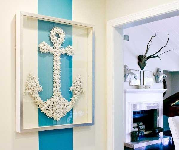 Beach themed Wall Decor Ideas Inspirational 36 Breezy Beach Inspired Diy Home Decorating Ideas
