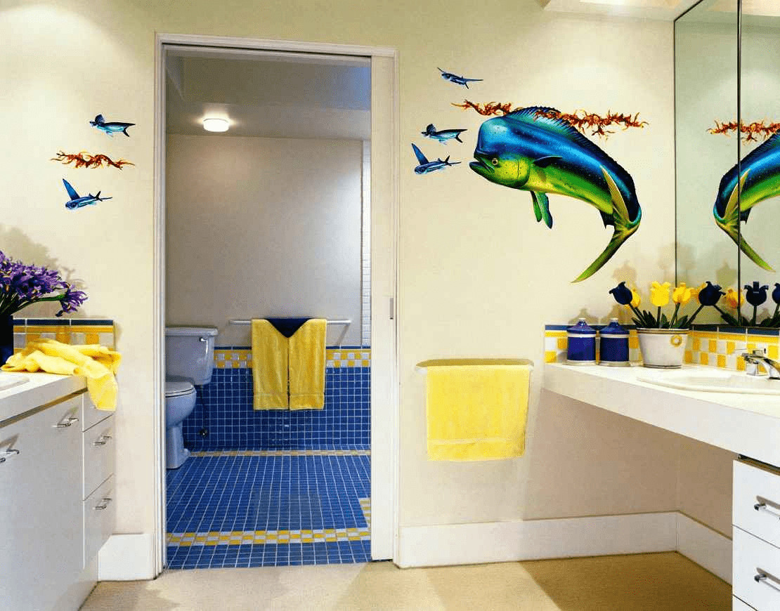 Beach Wall Decor for Bathroom Elegant Creative Ways On How to Decorate A Bathroom Wall