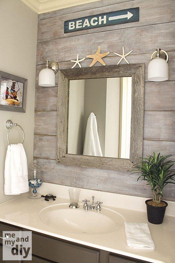 Beach Wall Decor for Bathroom Inspirational 25 Best Nautical Bathroom Ideas and Designs for 2019