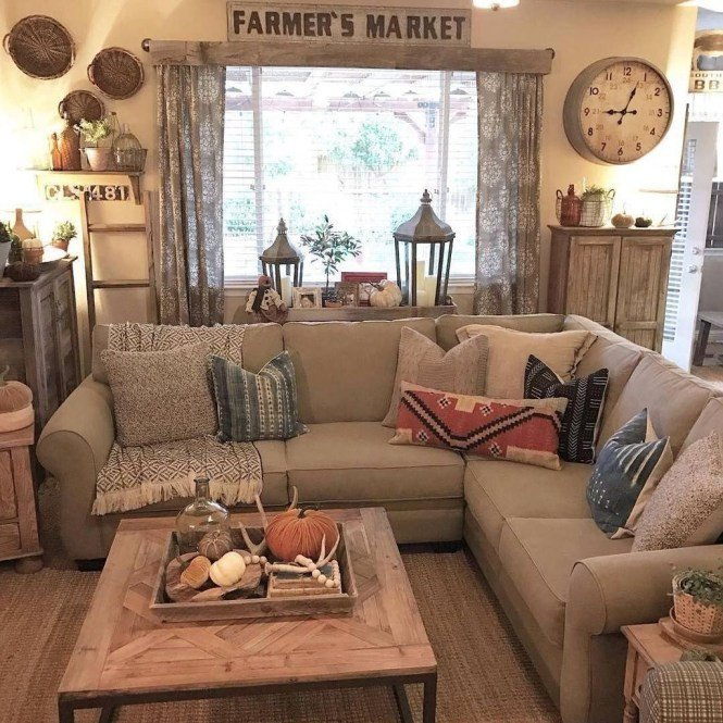 Beautiful Comfortable Living Room Awesome 44 Beautiful Rustic Farmhouse Living Room Design Ideas Make Your Home fortable Buildehome