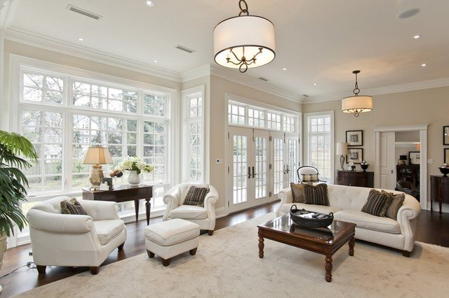 Beautiful Traditional Living Room Elegant Beautiful Downtown Oakville Home Traditional Living Room by Winterberry Lane
