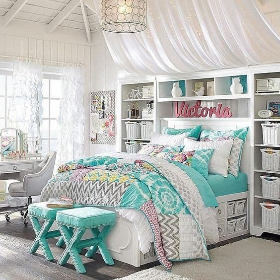 Bedroom Decor for Teenage Girl Awesome 18 Teenage Bedroom Ideas Suitable for Every Girl