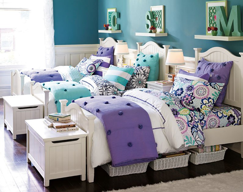 Bedroom Decor for Teenage Girl Unique Cute for Twins or Triplets Teenage Girl Bedroom Ideas D Bedroom