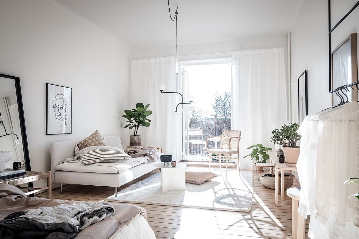 Bedroom Ideas Small Living Room Inspirational Bedroom and Living Room Bination Coco Lapine Designcoco Lapine Design