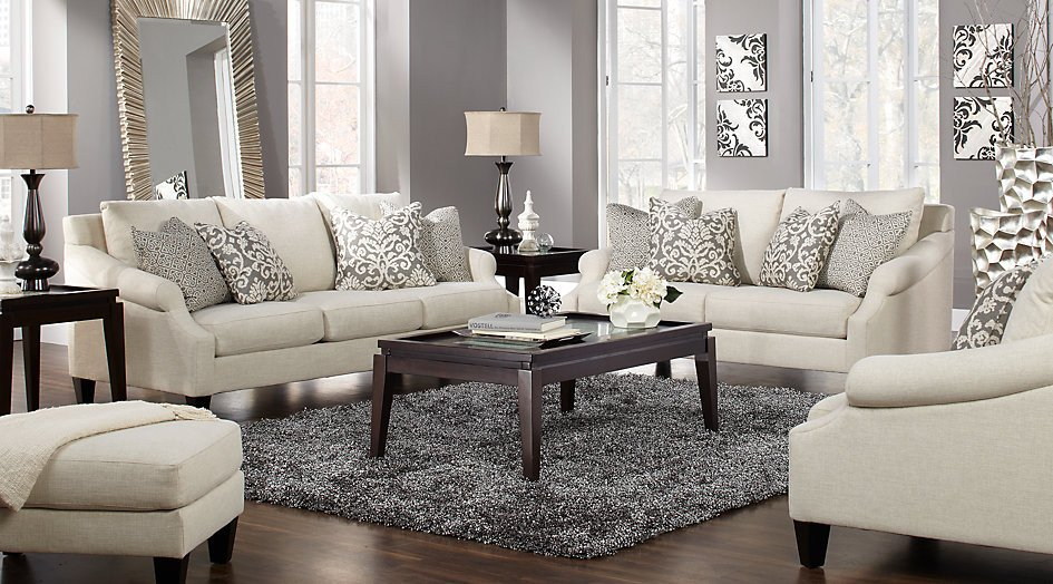 Beige Modern Living Room Decorating Ideas Best Of Alexandria Beige 5 Pc Living Room Living Room Sets Beige