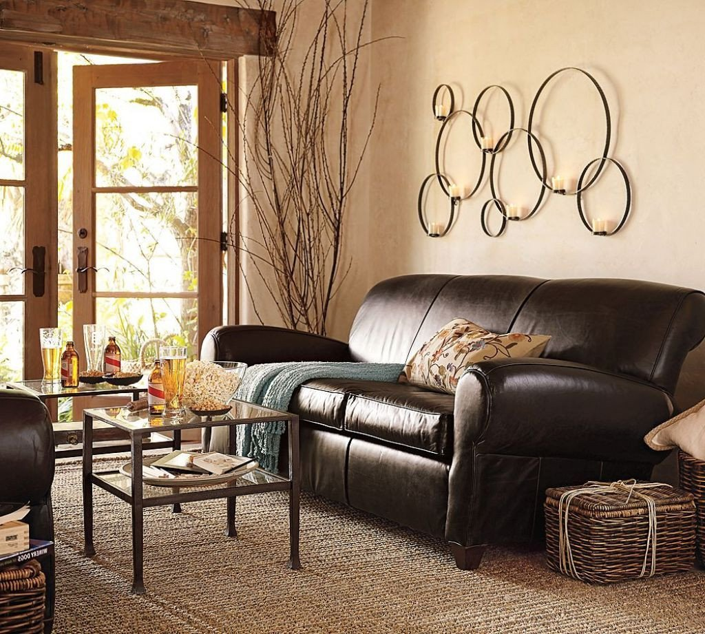 Beige Modern Living Room Decorating Ideas Elegant Modern Natural Looking Living Room with Beige Wall Paint Bined with Dark Brown sofa and Brown