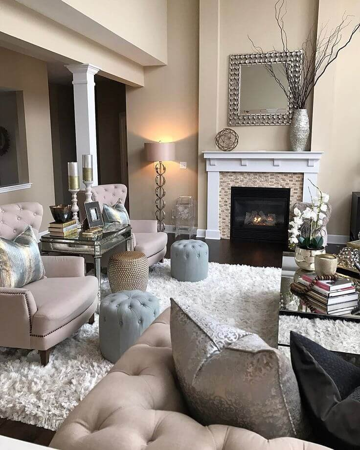 Beige Modern Living Room Decorating Ideas Inspirational 23 Best Beige Living Room Design Ideas for 2019