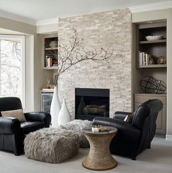 Beigh Modern Living Room Decorating Ideas Best Of Transitional Living Room In with Beige Walls Carpet and A Standard Fireplace Built In