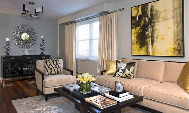 Beigh Modern Living Room Decorating Ideas Fresh Transitional Living Room Contemporary Living Room New York by Gerts House Of Style Interiors