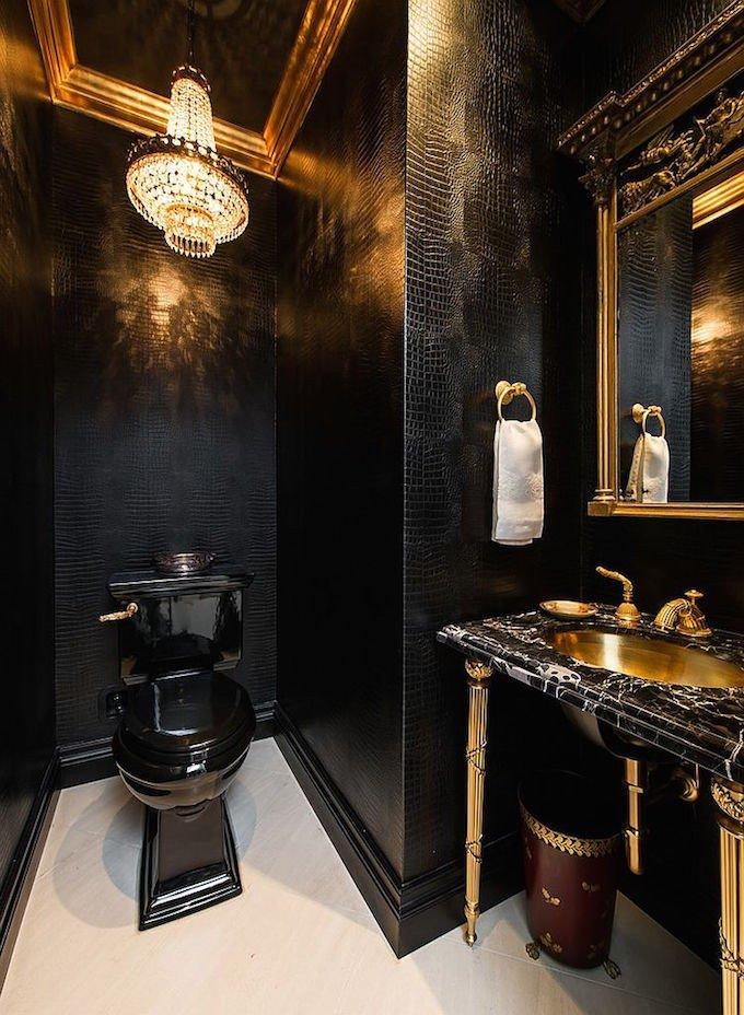 Black and Gold Bathroom Decor Beautiful 7 Luxury Bathroom Ideas for 2016
