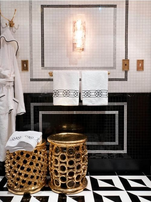 Black and Gold Bathroom Decor Fresh All that Glitters is Gold – 10 Drop Dead Gold Bathrooms Betterdecoratingbiblebetterdecoratingbible