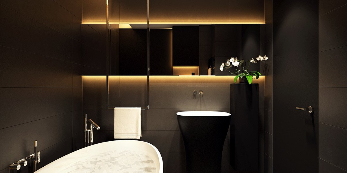 Black and Gold Bathroom Decor Lovely 6 Perfectly Minimalistic Black and White Interiors