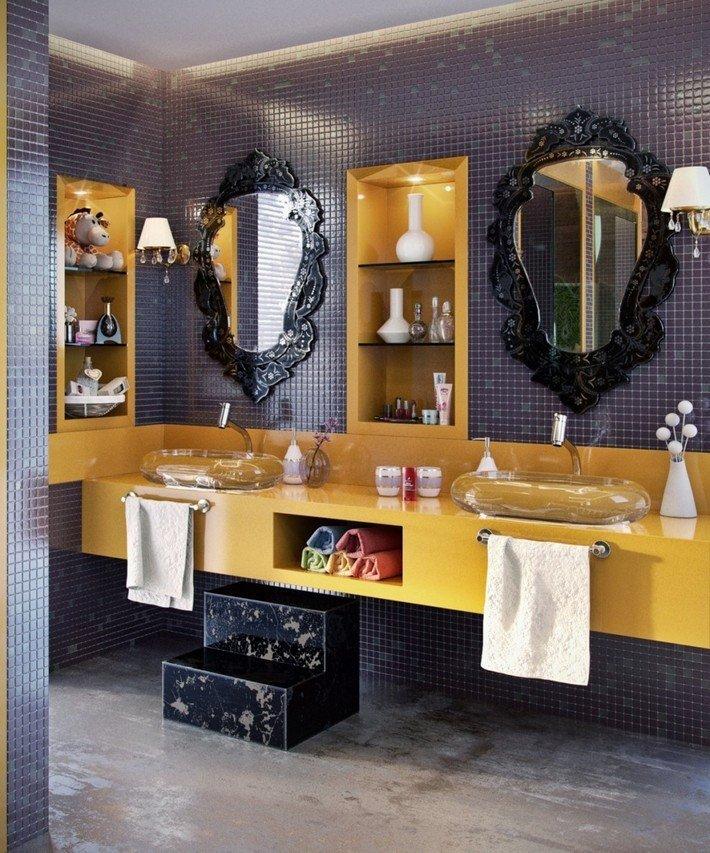 Black and Gold Bathroom Decor Luxury Halloween Bathroom Decor In Gold and Black tones
