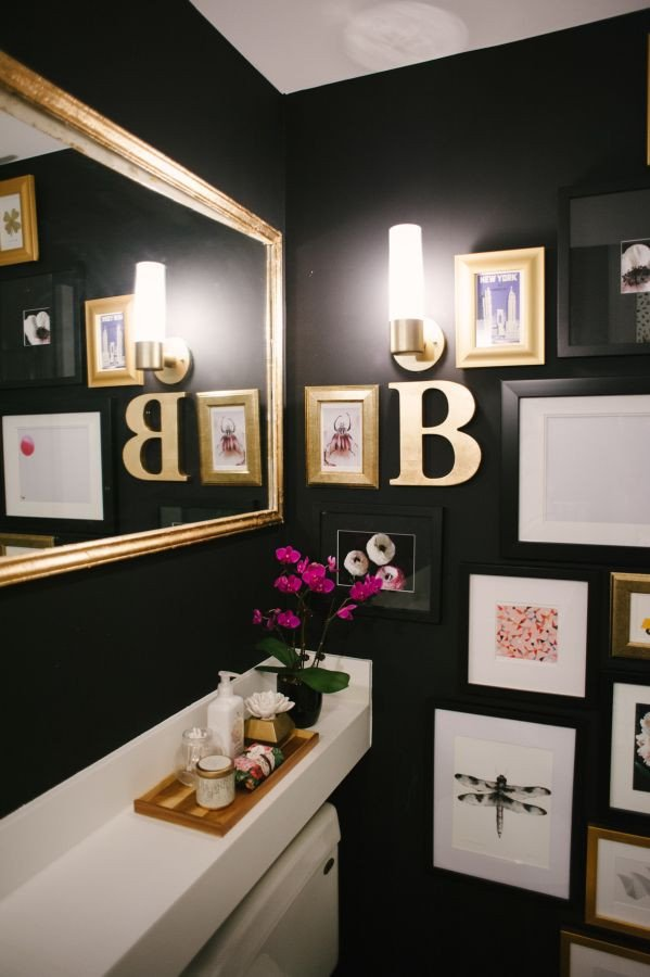 Black and Gold Bathroom Decor Luxury the Vault Files Home tour In 2019 Bathrooms