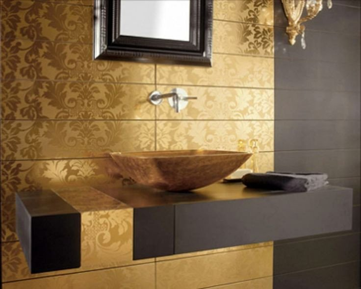 Black and Gold Bathroom Decor New Interior Decor Black Gold & White Bathroom Bathroom