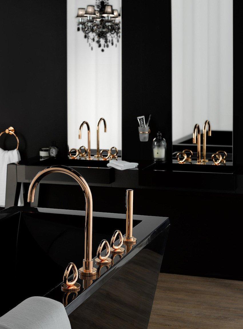 Black and Gold Bathroom Decor Unique 10 Elegant Black Bathroom Design Ideas that Will Inspire You