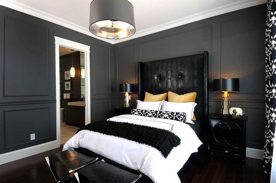 Black and Gold Bedroom Decor New 15 Refined Decorating Ideas In Glittering Black and Gold