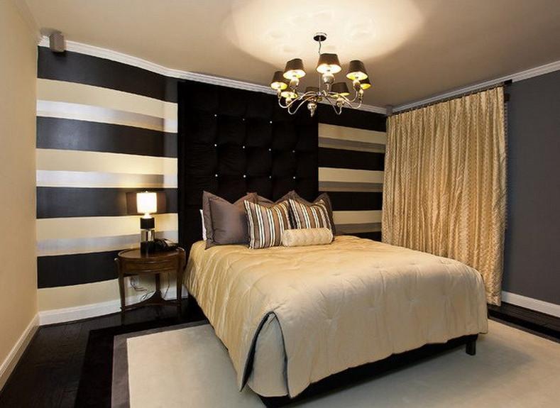 Black and Gold Bedroom Decor Unique Black and Gold Bedroom Design Giving A Luxury themed Bedroom