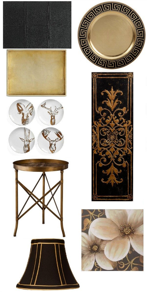Black and Gold Home Decor Awesome Saintsational Black and Gold Home Decor