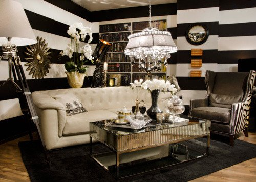Black and Gold Home Decor Best Of Black White and Gold Color Scheme Interiors 24 Photos Messagenote
