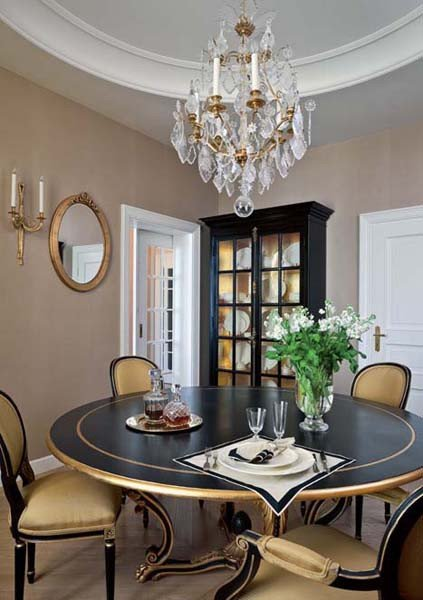 Black and Gold Home Decor Fresh Traditional Home Decor Style for Apartment Decorating In Moscow
