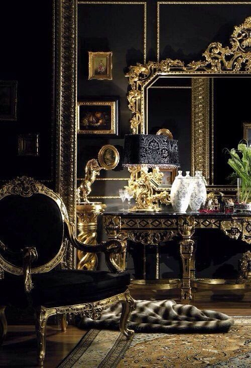 Black and Gold Home Decor Lovely Pin by Teresa Gentile On Home My Place Of Serenity In 2019